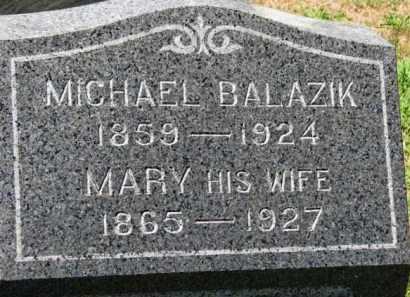 BALAZIK, MARY - Erie County, Ohio   MARY BALAZIK - Ohio Gravestone Photos
