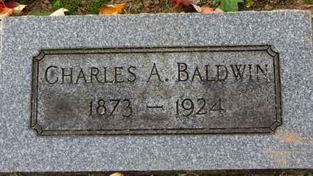 BALDWIN, CHARLES A. - Erie County, Ohio | CHARLES A. BALDWIN - Ohio Gravestone Photos