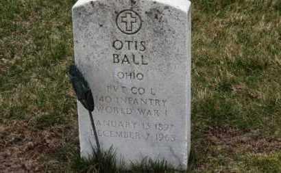 BALL, OTIS - Erie County, Ohio | OTIS BALL - Ohio Gravestone Photos