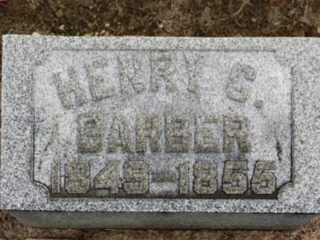 BARBER, HENRY C. - Erie County, Ohio | HENRY C. BARBER - Ohio Gravestone Photos
