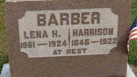 BARBER, HARRISON - Erie County, Ohio   HARRISON BARBER - Ohio Gravestone Photos