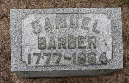 BARBER, SAMUEL - Erie County, Ohio | SAMUEL BARBER - Ohio Gravestone Photos