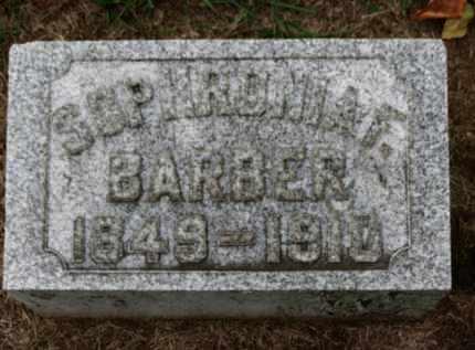 BARBER, SOPHRONIA F. - Erie County, Ohio   SOPHRONIA F. BARBER - Ohio Gravestone Photos