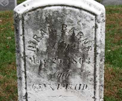 BARNS, HIRAM - Erie County, Ohio | HIRAM BARNS - Ohio Gravestone Photos