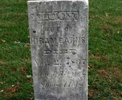 BARNS, LUCY - Erie County, Ohio | LUCY BARNS - Ohio Gravestone Photos