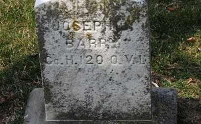 BARR, JOSEPH - Erie County, Ohio | JOSEPH BARR - Ohio Gravestone Photos