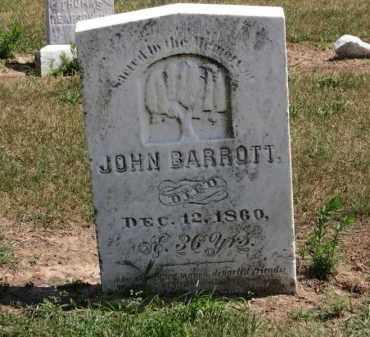 BARROTT, JOHN - Erie County, Ohio   JOHN BARROTT - Ohio Gravestone Photos