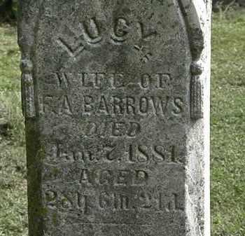 BARROWS, LUCY - Erie County, Ohio   LUCY BARROWS - Ohio Gravestone Photos