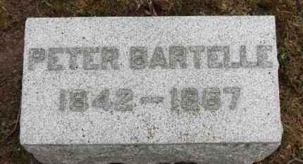 BARTELLE, PETER - Erie County, Ohio | PETER BARTELLE - Ohio Gravestone Photos