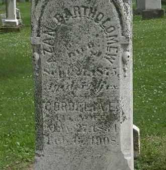 BARTHOLOMEW, CORDELIA E. - Erie County, Ohio | CORDELIA E. BARTHOLOMEW - Ohio Gravestone Photos