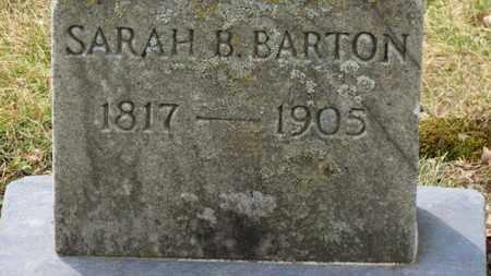 BARTON, SARAH B. - Erie County, Ohio | SARAH B. BARTON - Ohio Gravestone Photos