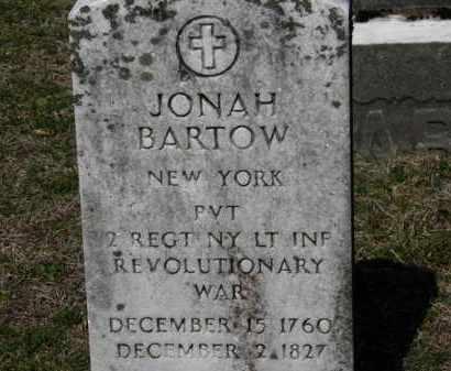 BARTOW, JONAH - Erie County, Ohio   JONAH BARTOW - Ohio Gravestone Photos