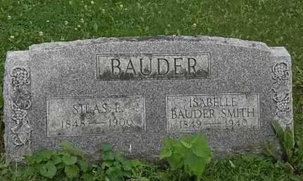 SMITH, ISABELLE BAUDER - Erie County, Ohio | ISABELLE BAUDER SMITH - Ohio Gravestone Photos