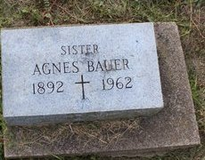 BAUER, SISTER ANGES - Erie County, Ohio | SISTER ANGES BAUER - Ohio Gravestone Photos