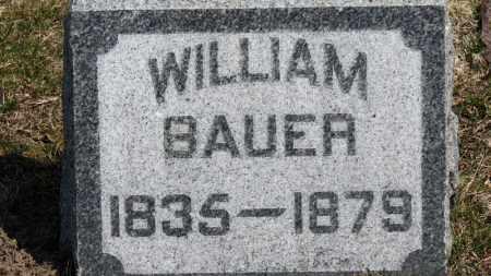 BAUER, WILLIAM - Erie County, Ohio | WILLIAM BAUER - Ohio Gravestone Photos