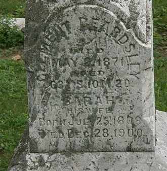 BEARDSLEY, SARAH - Erie County, Ohio | SARAH BEARDSLEY - Ohio Gravestone Photos