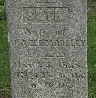 BEARDSLEY, SETH - Erie County, Ohio   SETH BEARDSLEY - Ohio Gravestone Photos