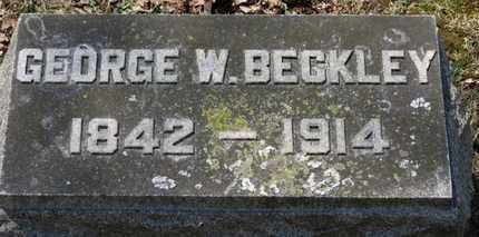 BECKLEY, GEORGE W. - Erie County, Ohio | GEORGE W. BECKLEY - Ohio Gravestone Photos
