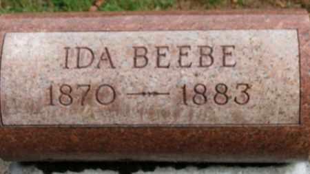 BEEBE, IDA - Erie County, Ohio | IDA BEEBE - Ohio Gravestone Photos