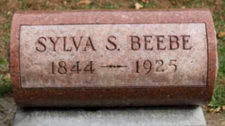 BEEBE, SYLVA S. - Erie County, Ohio   SYLVA S. BEEBE - Ohio Gravestone Photos