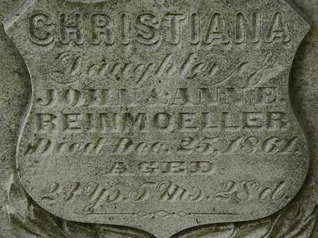 BEINMOELLER, CHRISTIANA - Erie County, Ohio | CHRISTIANA BEINMOELLER - Ohio Gravestone Photos