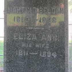 BELDEN, ELIZA ANN - Erie County, Ohio | ELIZA ANN BELDEN - Ohio Gravestone Photos