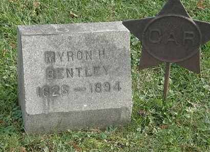 BENTLEY, MYRON H. - Erie County, Ohio | MYRON H. BENTLEY - Ohio Gravestone Photos