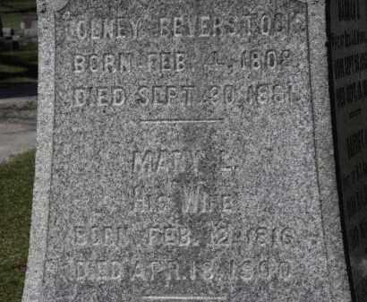 BEVERSTOCK, OLNEY - Erie County, Ohio | OLNEY BEVERSTOCK - Ohio Gravestone Photos