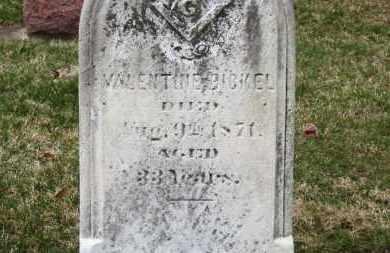 BICKEL, VALENTINE - Erie County, Ohio | VALENTINE BICKEL - Ohio Gravestone Photos