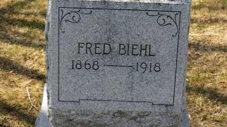 BIEHL, FRED - Erie County, Ohio | FRED BIEHL - Ohio Gravestone Photos