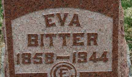 BITTER, EVA - Erie County, Ohio   EVA BITTER - Ohio Gravestone Photos