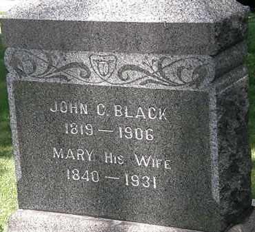 BLACK, MARY - Erie County, Ohio | MARY BLACK - Ohio Gravestone Photos