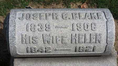 BLAKE, JOSEPH C. - Erie County, Ohio | JOSEPH C. BLAKE - Ohio Gravestone Photos