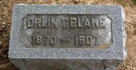 BLAKE, ORLIN T. - Erie County, Ohio | ORLIN T. BLAKE - Ohio Gravestone Photos