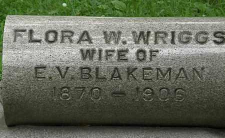 BLAKEMAN, FLORA W. - Erie County, Ohio | FLORA W. BLAKEMAN - Ohio Gravestone Photos