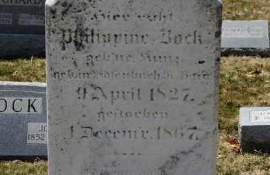 BOCK, PHILIPPINE - Erie County, Ohio | PHILIPPINE BOCK - Ohio Gravestone Photos
