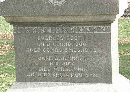 JOHNSON BOOTH, JANE A. - Erie County, Ohio | JANE A. JOHNSON BOOTH - Ohio Gravestone Photos