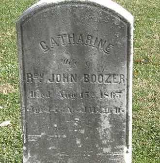 BOOZER, CATHARINE - Erie County, Ohio   CATHARINE BOOZER - Ohio Gravestone Photos