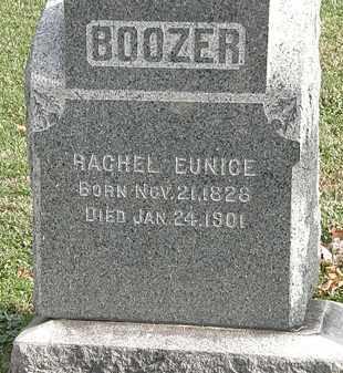 BOOZER, RACHEL EUNICE - Erie County, Ohio   RACHEL EUNICE BOOZER - Ohio Gravestone Photos