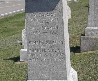 PEAK, CHARLES A. - Erie County, Ohio | CHARLES A. PEAK - Ohio Gravestone Photos