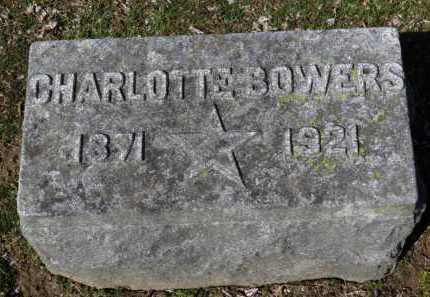 BOWERS, CHARLOTTE - Erie County, Ohio | CHARLOTTE BOWERS - Ohio Gravestone Photos
