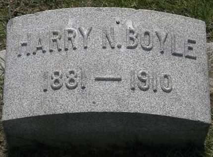 BOYLE, HARRY N. - Erie County, Ohio | HARRY N. BOYLE - Ohio Gravestone Photos
