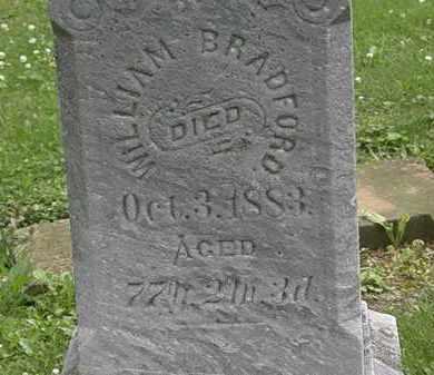 BRADFORD, WILLIAM - Erie County, Ohio | WILLIAM BRADFORD - Ohio Gravestone Photos