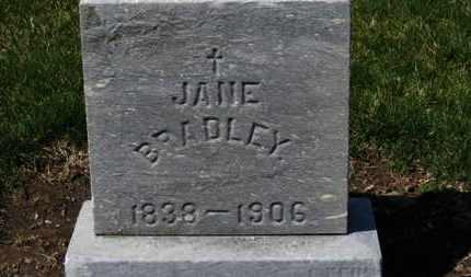 BRADLEY, JANE - Erie County, Ohio | JANE BRADLEY - Ohio Gravestone Photos