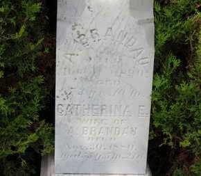 BRANDAU, CATHERINA E. - Erie County, Ohio | CATHERINA E. BRANDAU - Ohio Gravestone Photos