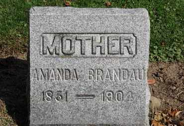 BRANDAU, AMANDA - Erie County, Ohio | AMANDA BRANDAU - Ohio Gravestone Photos