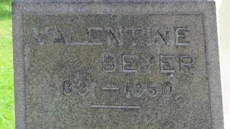 BRAUN, VALENTINE BEYER - Erie County, Ohio | VALENTINE BEYER BRAUN - Ohio Gravestone Photos