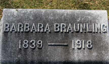 BRAUNLING, BARBARA - Erie County, Ohio | BARBARA BRAUNLING - Ohio Gravestone Photos