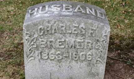 BREMER, CHARLES F. - Erie County, Ohio   CHARLES F. BREMER - Ohio Gravestone Photos