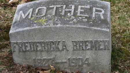 BREMER, FREDERICKA - Erie County, Ohio | FREDERICKA BREMER - Ohio Gravestone Photos